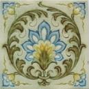 Antique English Victorian/Art Nouveau Tile - Minton's China
