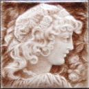 American Art Portrait Tile - Providential
