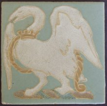 Antique American Arts & Crafts Tile - Rookwood Faience