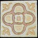 Antique American Arts & Crafts Tile - Flint Faience