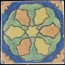 Antique American Arts & Crafts S & S California Tile
