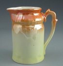 Antique Bavarian Porcelain Lustre-Ware Pitcher