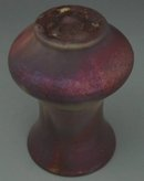 Antique Pewabic Pottery Iridescent Vase