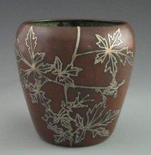 Heintz Sterling on Copper Pot