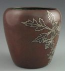 Heintz Sterling on Copper Pot