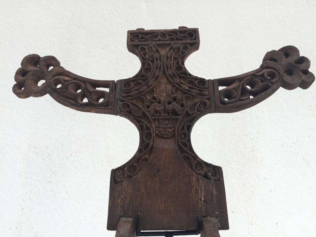 LETI ANCESTRAL ALTAR Tafu Worship Image Old Artifact Statue Sculpture Art #3