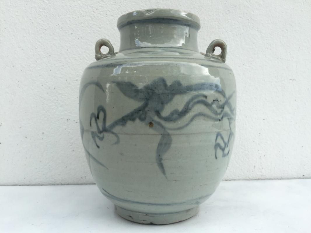 #2 GREEN NAGA KETTLE Qing Dynasty (1644-1912)Dragon Pot Pottery Vase Wine Jar