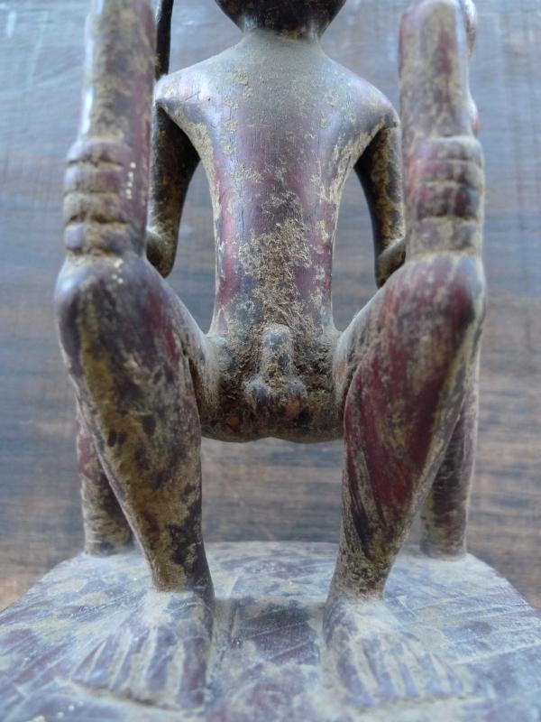 FERTILITY PANGLIMA NIAS ALTAR STATUE Artifact Sculpture Image Figure Artefact