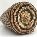 BRAND NEW Ajat / NATIVE BASKET Woven Sling Bag Backpack Camping Traditional #2