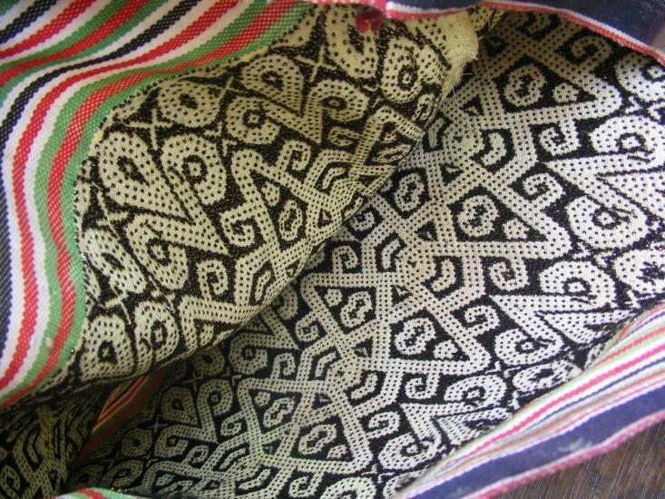 IKAT BIDANG Skirt DRESS Borneo ritual Dance Textile SARONG LADIES GARMENT #34