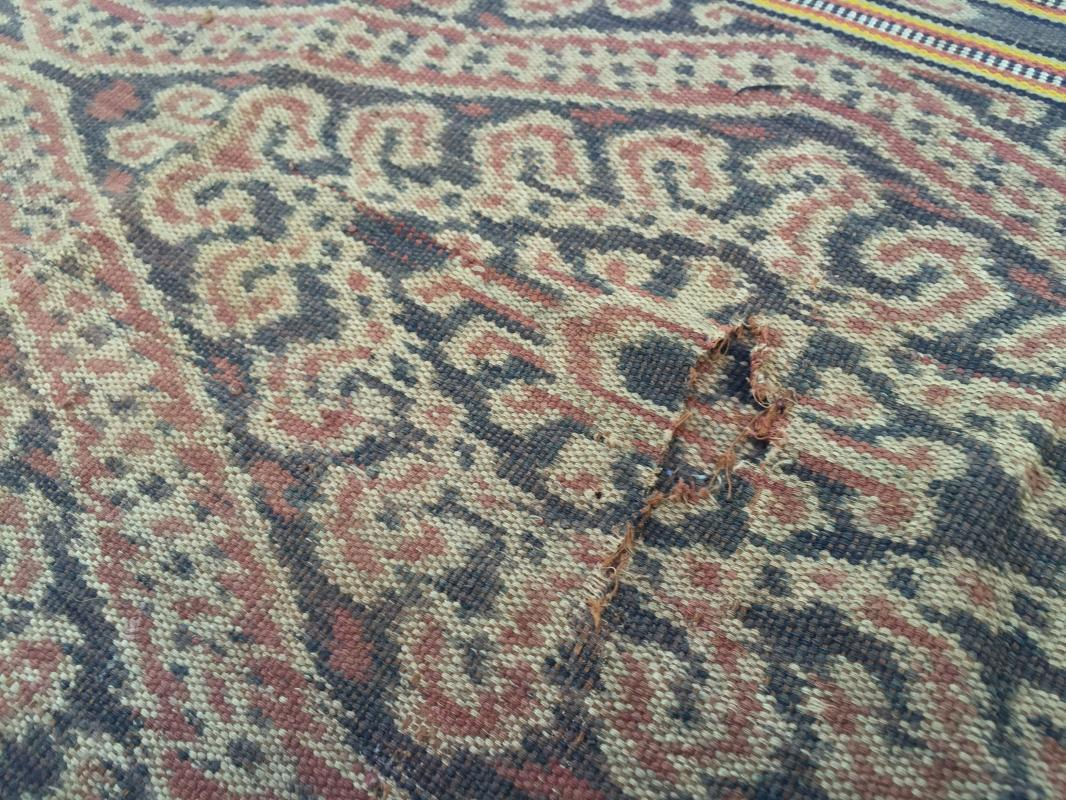 GIGANTIC SNAKE BUAH NABAU Serpent Pattern Bidang SARONG LADIES GARMENT CLOTH#281