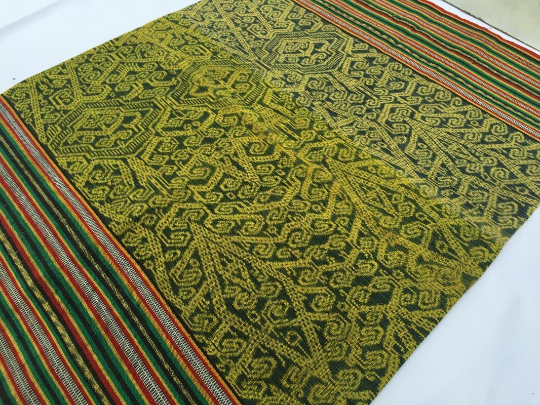 SARONG BIDAN Kain Kebat Style 640mm Tribal Skirt LADIES WOMEN GARMENT DRESS #303