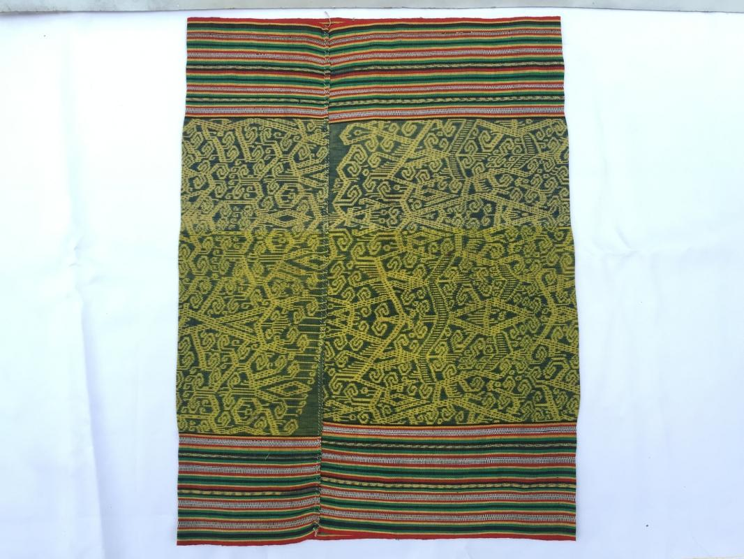 SARONG BIDAN Kain Kebat Style 640mm Tribal Skirt LADIES WOMEN GARMENT DRESS #303