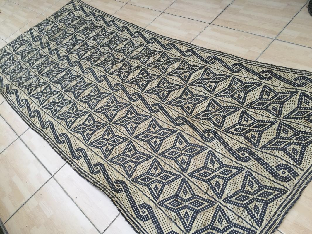 RATTAN SLEEPING MAT Hand Woven Traditional Floor Carpet Cooling Comfortable Rug #2
