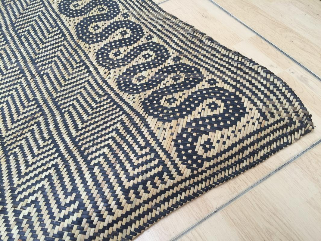 RATTAN SLEEPING MAT Hand Woven Traditional Floor Carpet Cooling Comfortable Rug #3