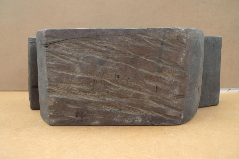 BORNEO IRONWOOD ARTIFACT 14 lb XXXL ANTIQUE MEDICINE TRAY Dayak Tribe Tribal Art