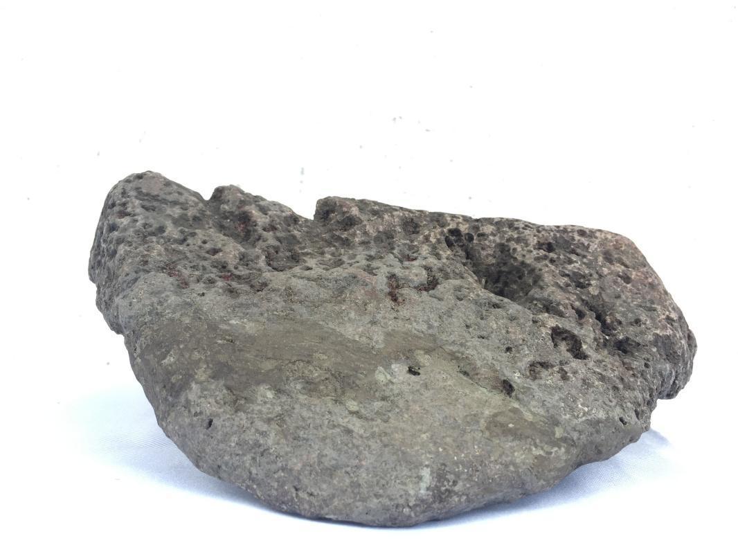 STONE MASK 170x140mm ROCK FACE Dayak Dyak Borneo Artifact Statue Figure Fossil?