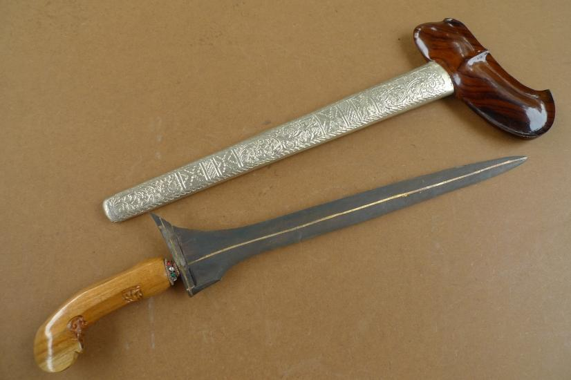KERIS (SHOWER OF GOLD: PAMOR) GOLDEN BLADE Knife Weapon Sword Dagger Kriss Kris