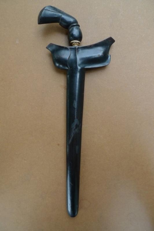 (SUMATRA PALEMBANG: Straight Blade KERIS) Knife Weapon Sword Dagger Kris Tribal