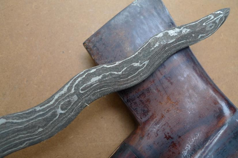 (FISH BLADE: Wealth & Prosperity KERIS) RARE Knife Weapon Sword Dagger Kris Asia