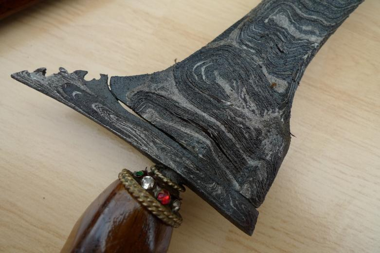 EXTREMELY RARE Lawe Setukeli KERIS 510mm KRIS Knife Weapon Blade Dagger Sword