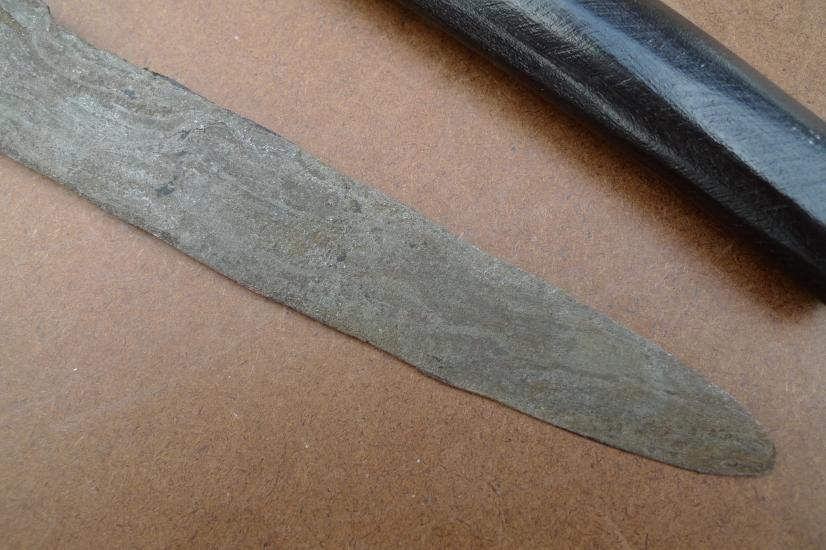 KERIS SAJEN MAJAPAHIT 500 Years Blade Antique Old Aged KRIS KRISS KNIFE WEAPON