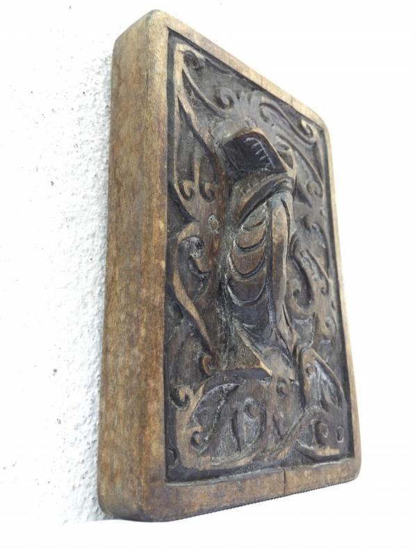 LOVELY TATTOO INK BLOCK Art Body Piercing Statue Figure DAYAK BORNEO #2