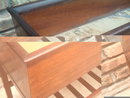 Vintage DANISH MODERN Mid-Century ROSEWOOD Floor Plant Stand PLANTER BOX Eames Era DENMARK