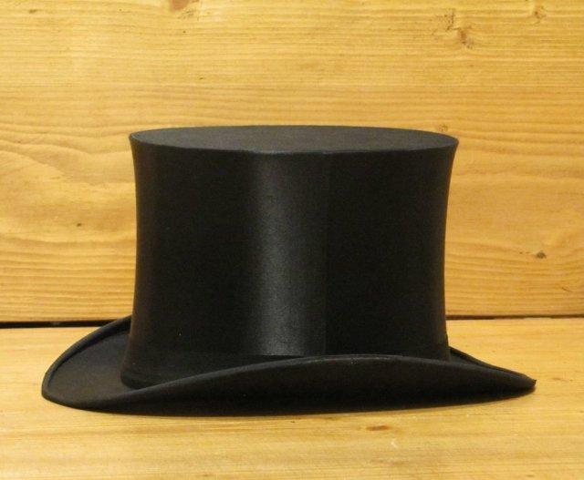 Silk Top Hat & Hat Box