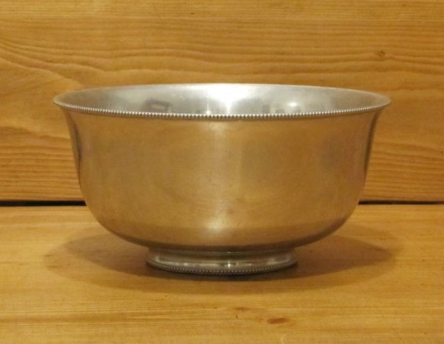 Aluminum Fruit Bowl