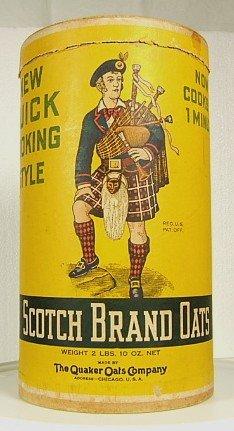 SCOTCH BRAND QUAKER OATS BOX