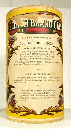 SCOTCH BRAND QUAKER OATS BOX