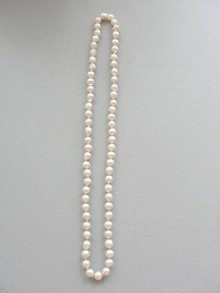 Baroque Akoya Cultured Pearl Necklace