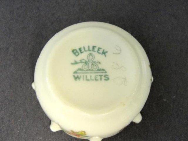 Willets Belleek Salt Dips