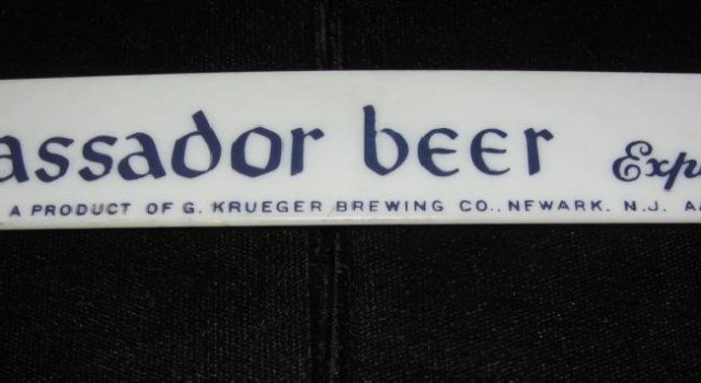 Vintage Beer Foam Scraper