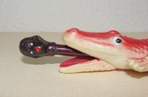 Celluloid Alligator Letter Opener