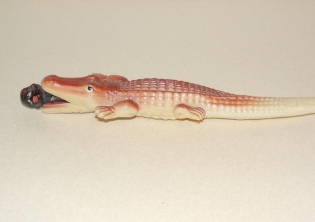 Celluloid Alligator Letter Opener
