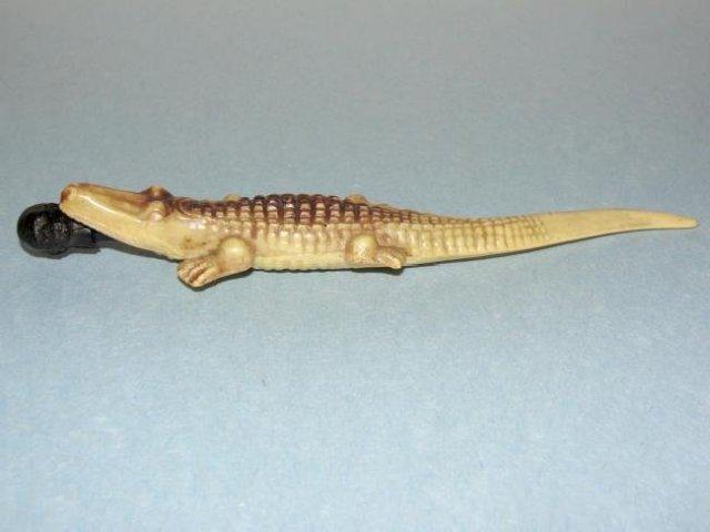 Mini Celluloid Alligator Letter Opener