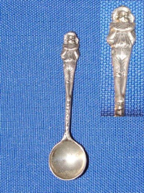 Sterling Salt Spoon