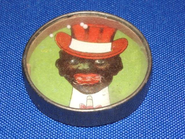 Black Americana Puzzle Game & Mirror.