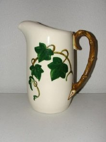 Metlox Pottery California Ivy Pitcher