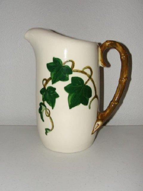 Metlox Pottery California Ivy Pitcher