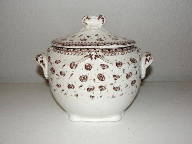 George Jones & Sons Bisquit Jar