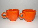 2-Vintage Fiesta Coffee Cups