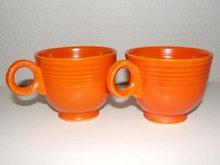 2 Vintage Fiesta Coffee Cups
