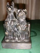 Pair of Made in Japan Figural Dog Bookends.