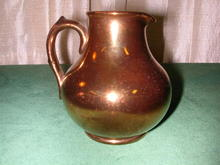 Gibson & Sons Copper Luster Pitcher.