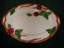 Franciscan Apple Oval Platter.