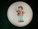 Hummel #744 Little Music Makers Miniature Plate.