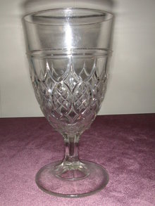McKee and Brothers Double Spear Goblet.